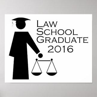 Law School Graduate 2016 Poster