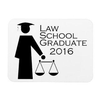 Law School Graduate 2016 Rectangular Photo Magnet