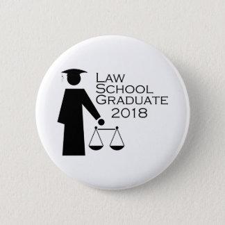 Law School Graduate 2018 Button