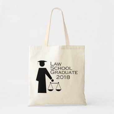 Lawyer Themed Law School Graduate 2018 Tote Bag