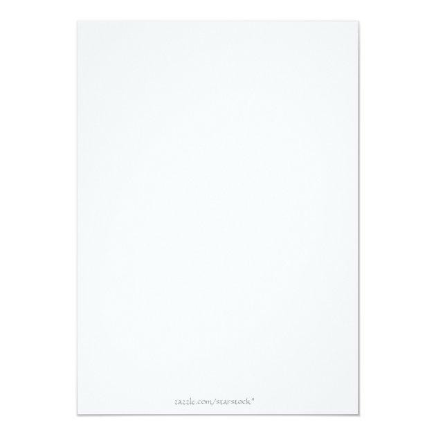 Law School Graduate Annoucement 5x7 Paper Invitation Card (back side)