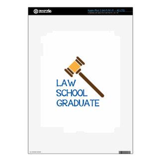 Law School Graduate iPad 3 Skin