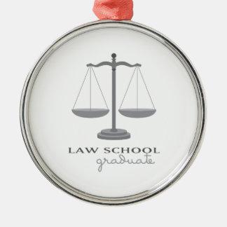 Law School Graduate Metal Ornament