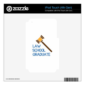 Law School Graduate Skins For iPod Touch 4G