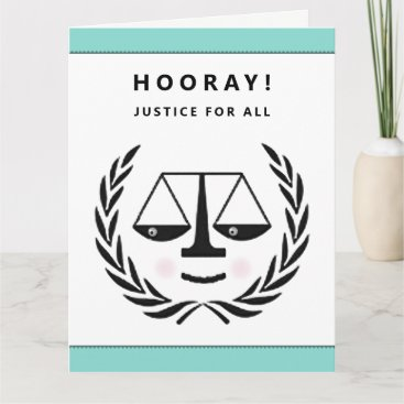 Law School Graduation Card