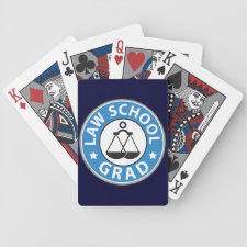 Law School Graduation Deck Of Cards