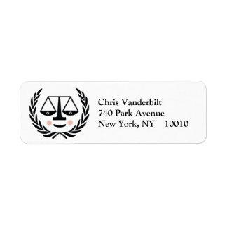 Law School Graduation Label