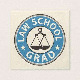 Law School Graduation Napkin