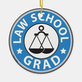 Law School Graduation Ornaments