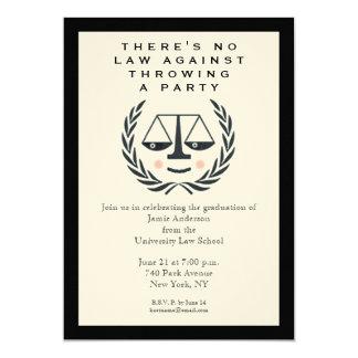 Law School Graduation Party Invitation