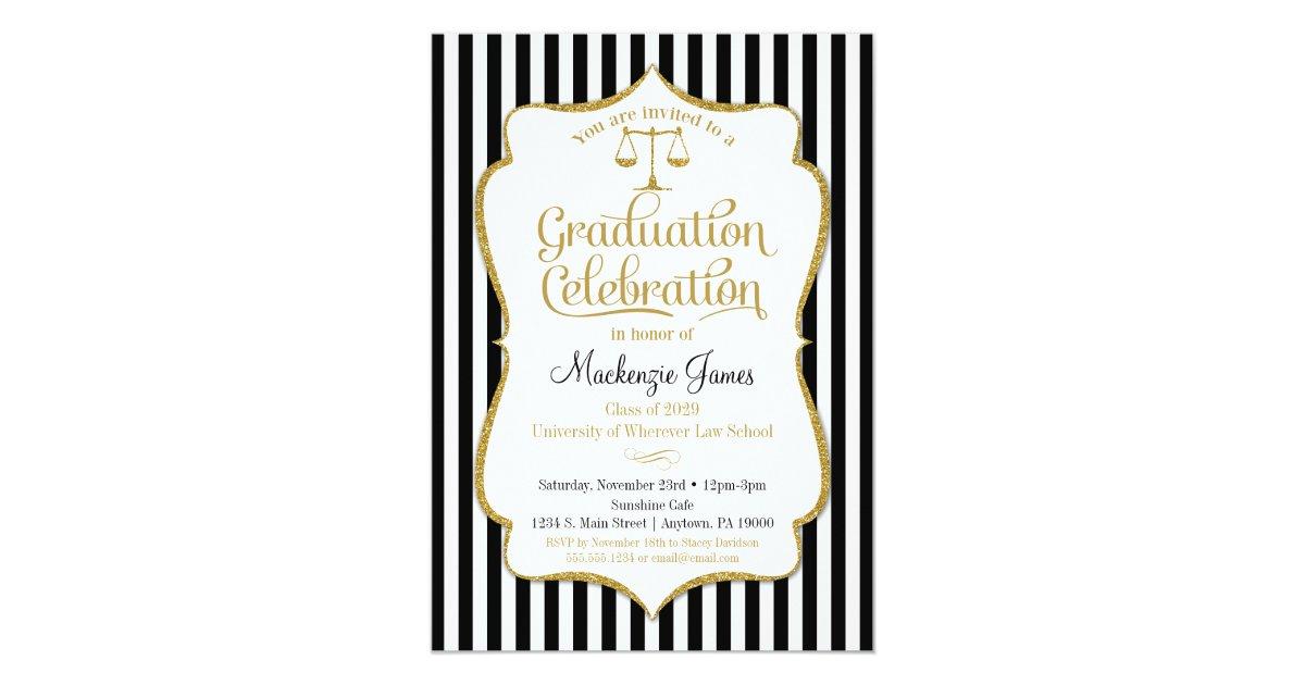 Lawyer Invitations & Announcements | Zazzle