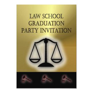 Law School Graduation Party Invitations Announcements Zazzle