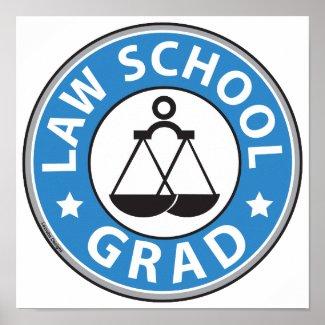 Law School Graduation Print
