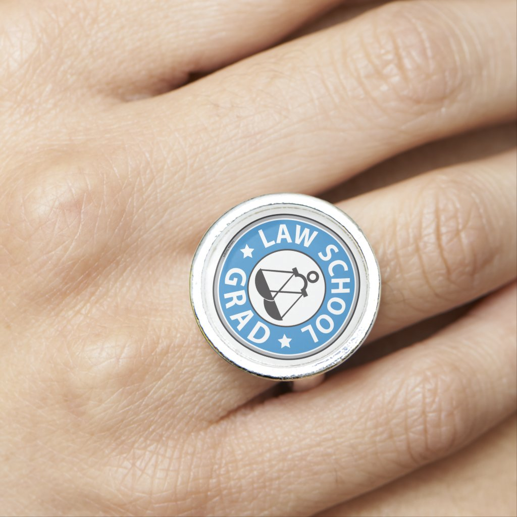 Law School Graduation Ring