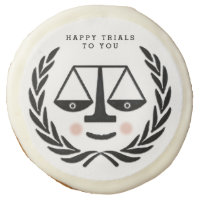 Law School Graduation Sugar Cookie