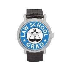 Law School Graduation Watches
