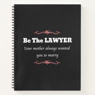 Law School Lawyer Female Graduate - Graduation Notebook