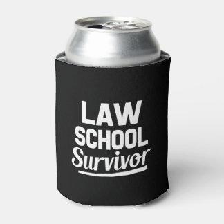 Law School Survivor funny can cooler