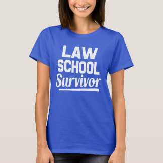 Law School Survivor funny women's shirt