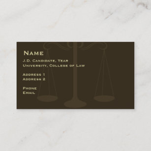 Law student business cards zazzle law student business card 2 colourmoves