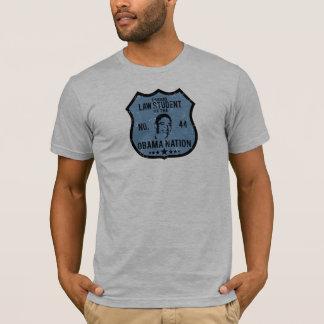 Law Student Obama Nation T-Shirt