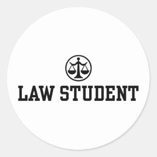 Law Student Sticker