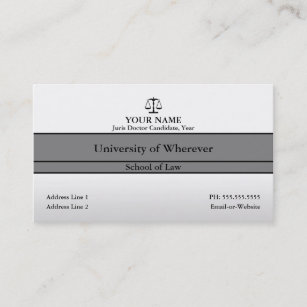 Law student business cards zazzle law student business card colourmoves