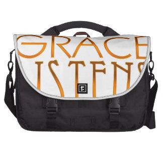 Law works, Grace listens - Genesis 27:1,8 Computer Bag