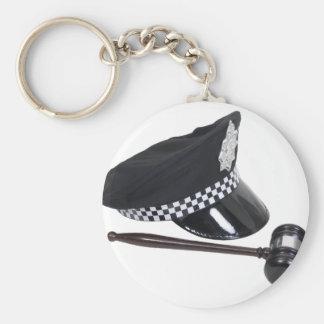 LawAndOrder100409 Basic Round Button Keychain