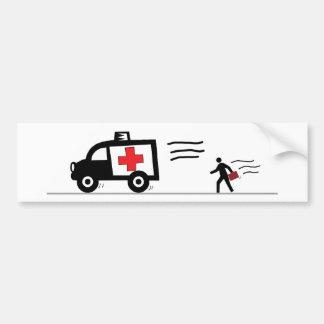 Lawer - Abulance chaser Car Bumper Sticker