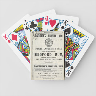 Lawerence's Medford Rum Bicycle Playing Cards