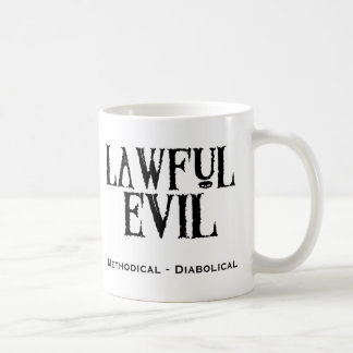 """Lawful Evil"" Coffee Mug"