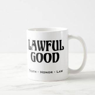 """Lawful Good"" Classic White Coffee Mug"