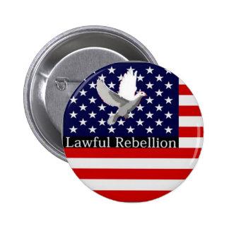 Lawful Rebellion Pinback Button
