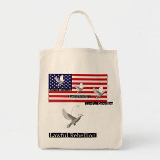 Lawful Rebellion Tote Bag