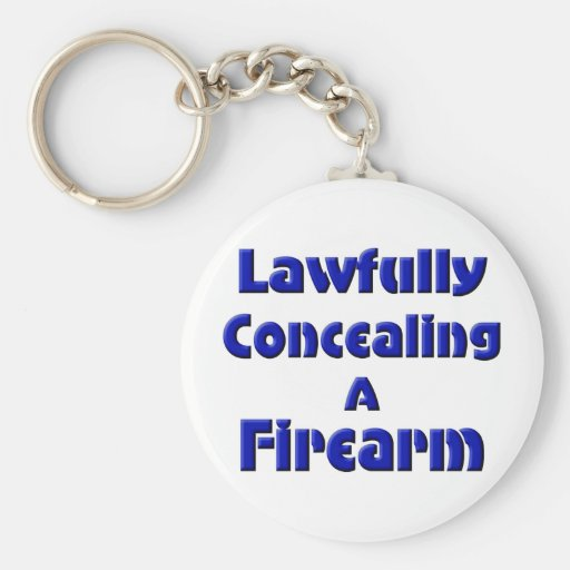 Lawfully Concealing a Firearm Keychain