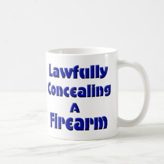 Lawfully Concealing a Firearm Mugs
