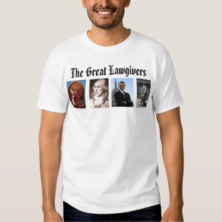lawgiver, James Madison, Icon Moses And The Bur... Tee Shirt