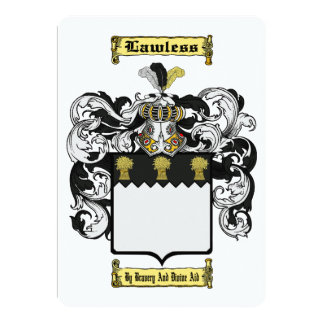 Lawless Card