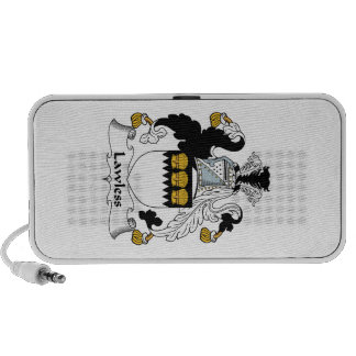 Lawless Family Crest iPod Speakers