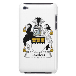 Lawless Family Crest iPod Touch Covers