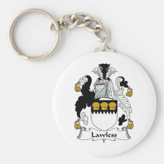 Lawless Family Crest Key Chains