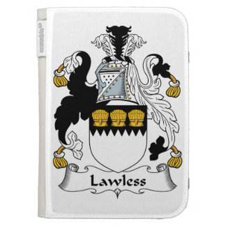 Lawless Family Crest Kindle Cover
