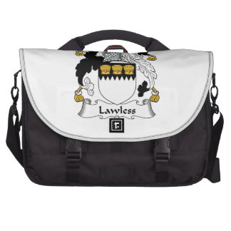 Lawless Family Crest Laptop Bag