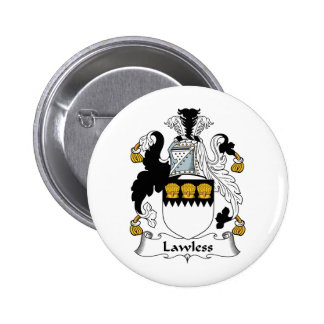 Lawless Family Crest Pins