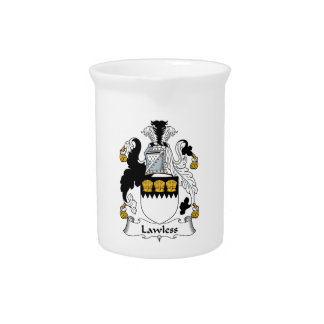 Lawless Family Crest Pitcher