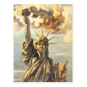 Lawless Lady Liberty Post Cards