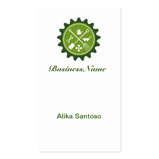 Lawn and Tree Care Business Cards