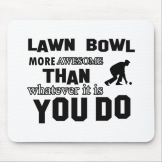 Lawn Bowl awesome designs Mouse Pad