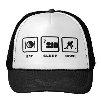 Lawn Bowl Trucker Hats